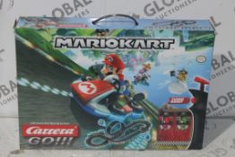 Boxed Mario Kart Carrera Go Scalelectric Set RRP £50 (4404237) (Public Viewing and Appraisals