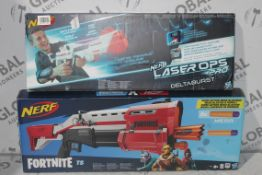 Boxed Assorted Nerf Fortnite and Battle Ready Soft Dart Guns RRP £35 Each (RET00212563)(4305481) (