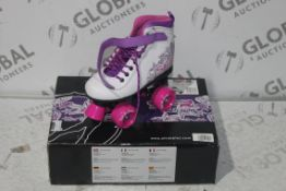 Boxed Pairs of SFR Vision Roller Boots RRP £35 Each (4280350)(4193783) (Public Viewing and