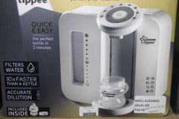 Boxed Tommee Tippee Closer to Nature Perfect Preparation Bottle Warming Station RRP £60 (