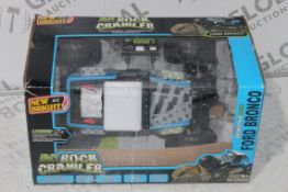 Boxed New Bright RC Rock Crawler Junior Remote Control 4x4 Jeeps RRP £50 Each (RET00629053)(