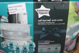 Boxed Tommee Tippee Advanced Anti Colic Complete Feeding Set RRP £75 (RET00012688) (Public Viewing