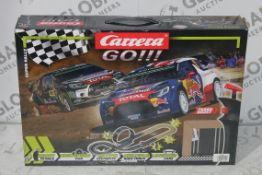 Boxed Carrera Go Super Rally Style Scalelectric Set RRP £50 (4323921) (Public Viewing and Appraisals
