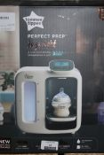 Boxed Tommee Tippee Day and Night Perfect Preparation Bottle Warming Station RRP £120 (