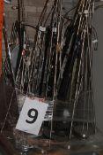 Pallet to Contain an Assortment 15 Floor Standing