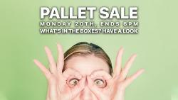 Pallet Clearance Sale!