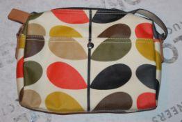 Orla Kiely Multi Stem Small Easy Clean Wash Bag RRP £80