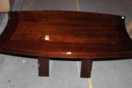 Mahoghany Gloss Effect Coffee Table RRP £279