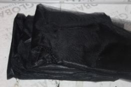 Lot to Contain 5 Boxed Brand New Safety Netting in Black Combined RRP £50 (Public Viewing and