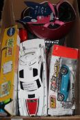 Lot to Contain an Assortment of Children's Toy Items to Include a Vtech Art Colour and Light