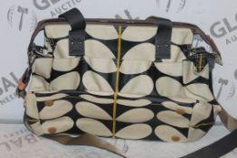 Orla Kiely Easy Clean Designer Changing Bag RRP £150