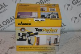 Boxed Brand New Wagner Tex Perfect Flex 525 Masonary and Textured Paint Sprayer RRP £55