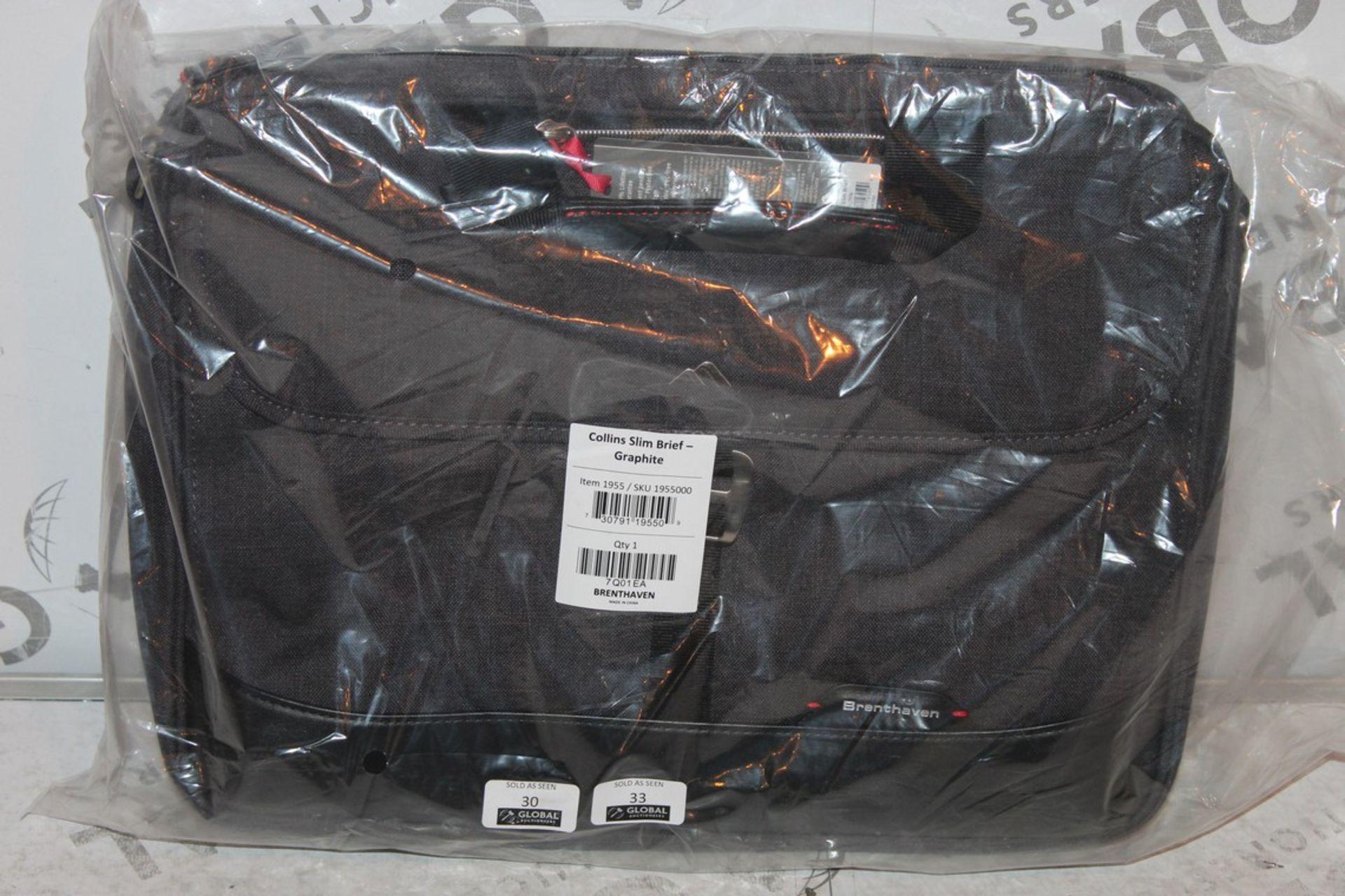 Lot 32 - Brand new Brenthaven Collins Slim, Graffiti Briefcase, RRP£55.00