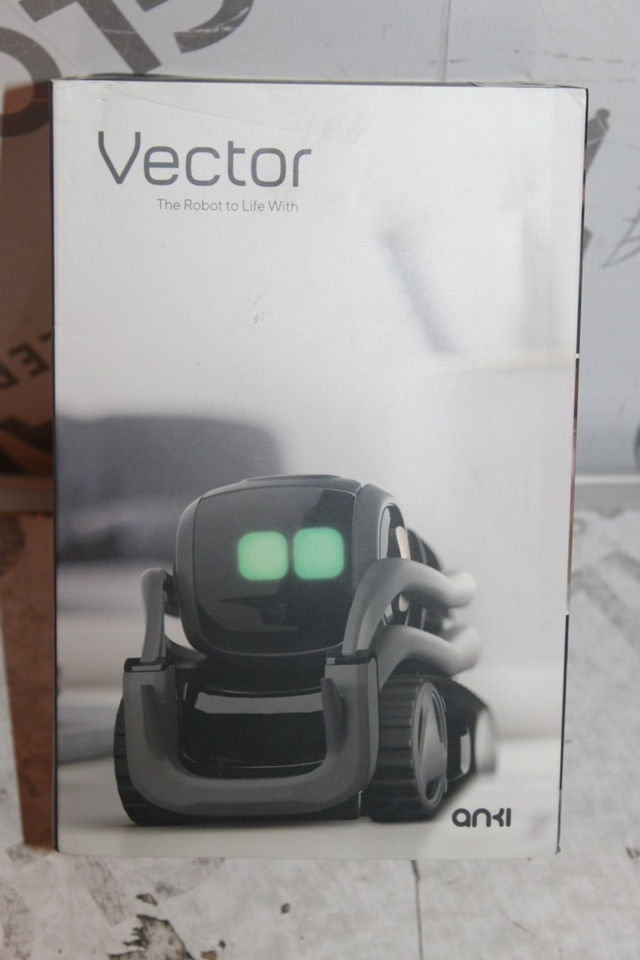 Lot 43 - Boxed ANKI VCTR, App Enabled Robotic Droid, RRP£250.00