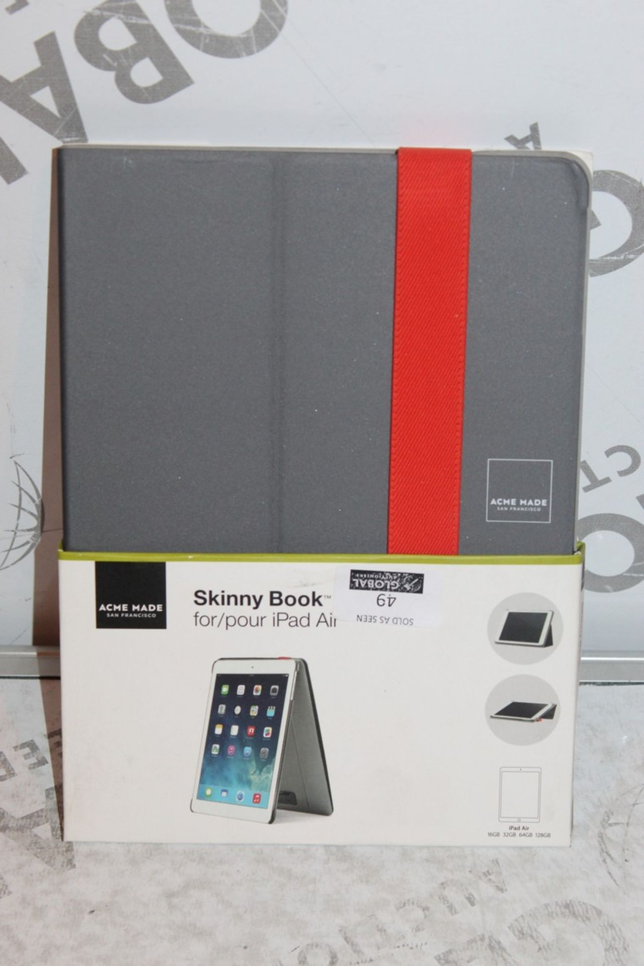 Lot 49 - Lot to Contain 10, Acme Made, Skinny Book Sleeves, For iPad Air, Combined RRP£250.00