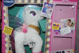 Boxed Vtech Mila Magical Make-up Unicorn, RRP£35.00 EACH (00797790 (RET00438704) (Public Viewing and