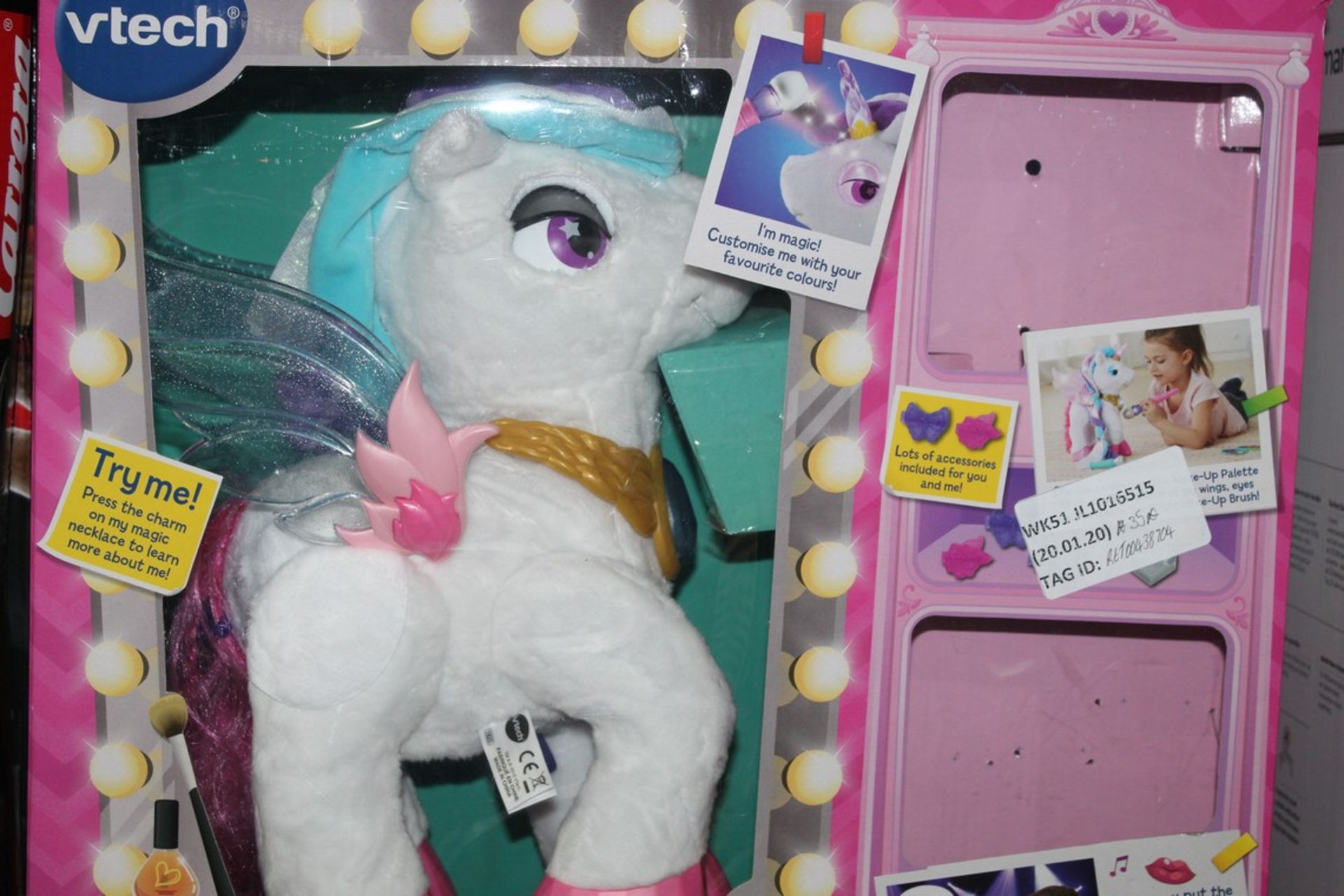 Lot 26 - Boxed Vtech Mila Magical Make-up Unicorn, RRP£35.00 EACH (00797790 (RET00438704) (Public Viewing and