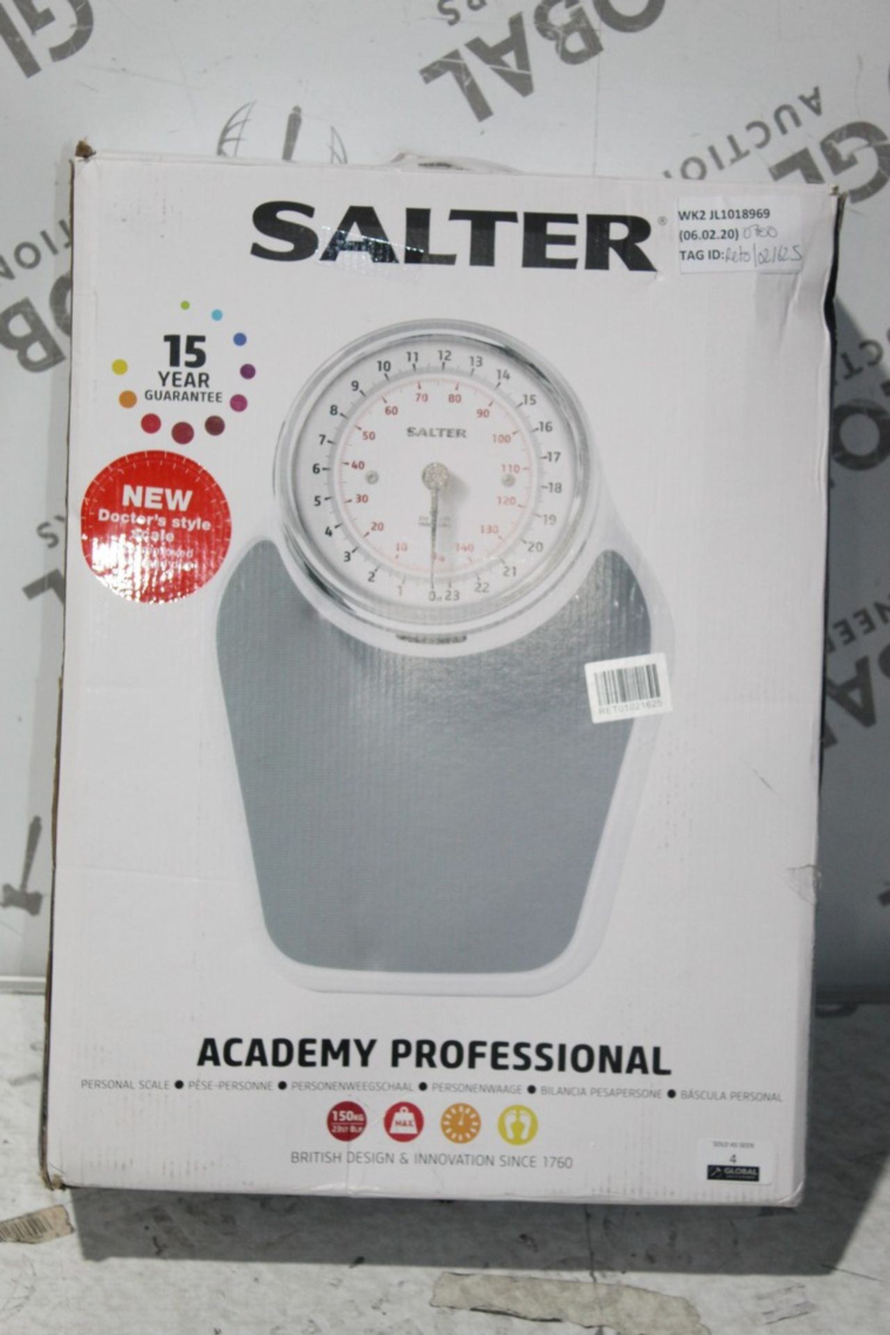 Lot 5 - Boxed Pair of Salta Academy Profession Mechanical Weighing Scales, RRP£70.00 (4678715) (Public