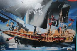 Boxed Playmobile Pirates Ages 4-10 Play Pirate Ship, RRP£50.00 (RET00311237) (Public Viewing and