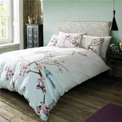 Complete Ted Baker, Flight of the Auriant, Super King-Size Duvet Cover and Pillow Cases, Combined
