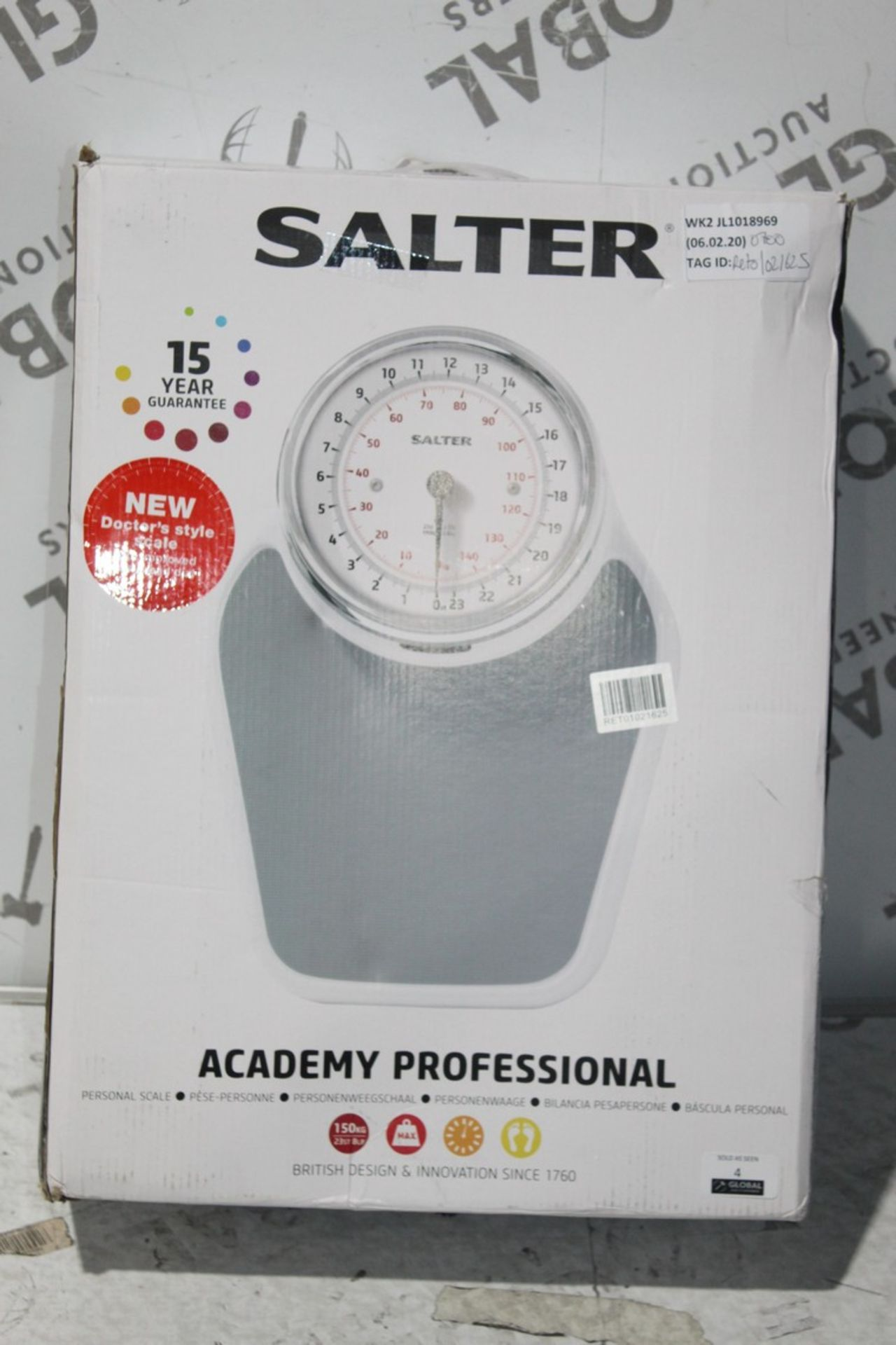 Lot 6 - Boxed Pair of Salta Academy Profession Mechanical Weighing Scales, RRP£70.00 (378324) (Public