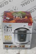 Boxed 12in1 Pressure King Pro, Digital Pressure Cooker, RRP£120.00 (RET00986051) (Public Viewing and