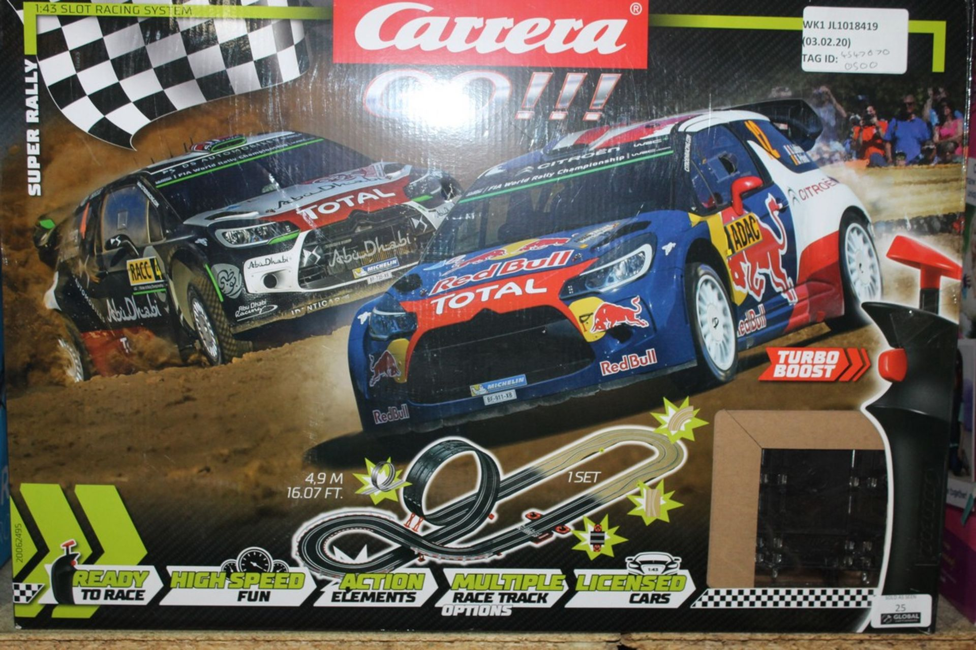 Lot 25 - Boxed Carrera Go, Super Rally Scale Electric Sets, RRP£50.00 EACH 4547070 (4600704) (4390694) (