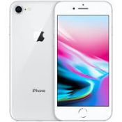 Apple iPhone 8 64GB Silver RRP £480 - Grade A - Perfect Working Condition - (Fully refurbished and