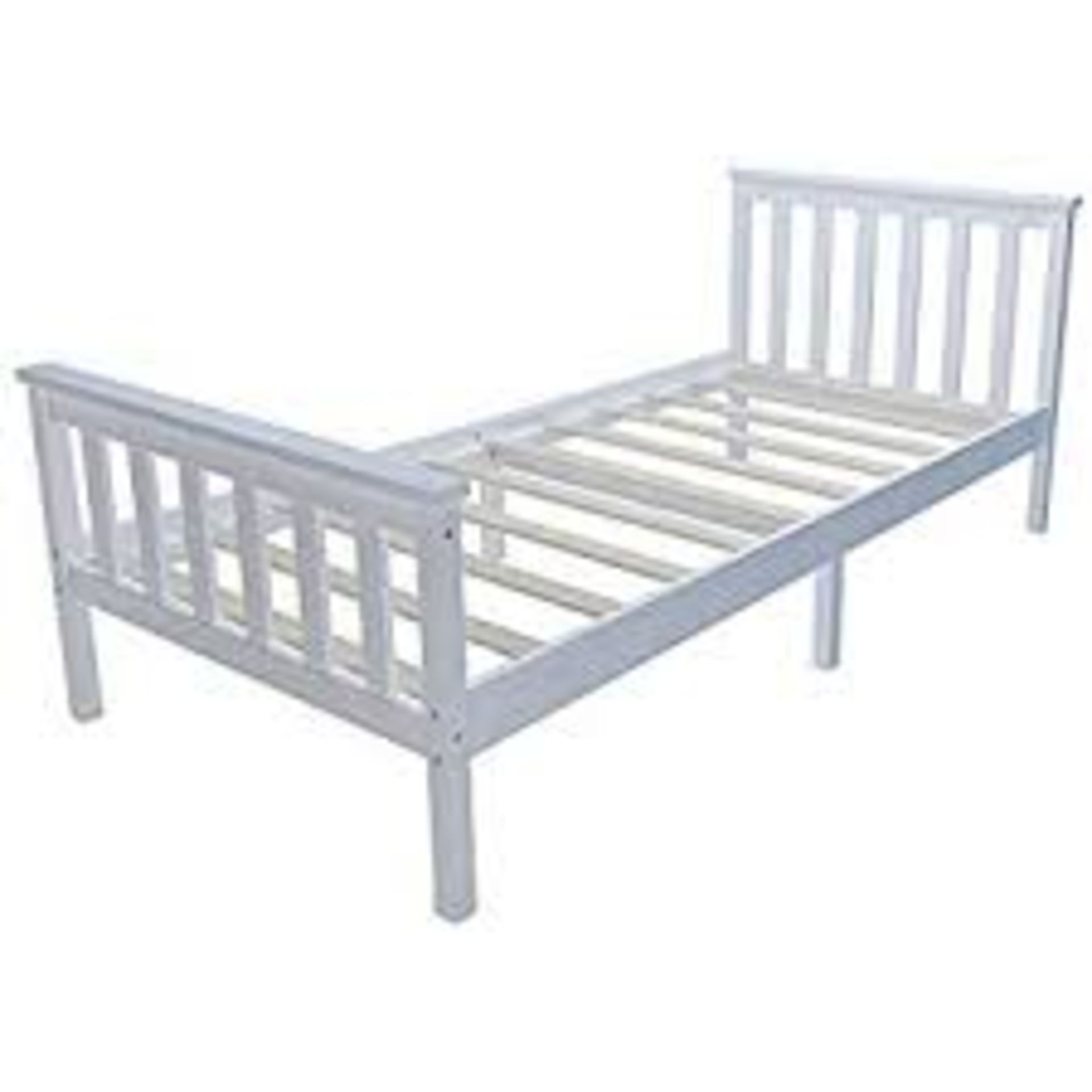 Lot 5 - Boxed Pine Single Bed RRP £80 (18364) IMAGES ARE FOR ILLUSTRATION PURPOSES ONLY AND MAY NOT BE AN