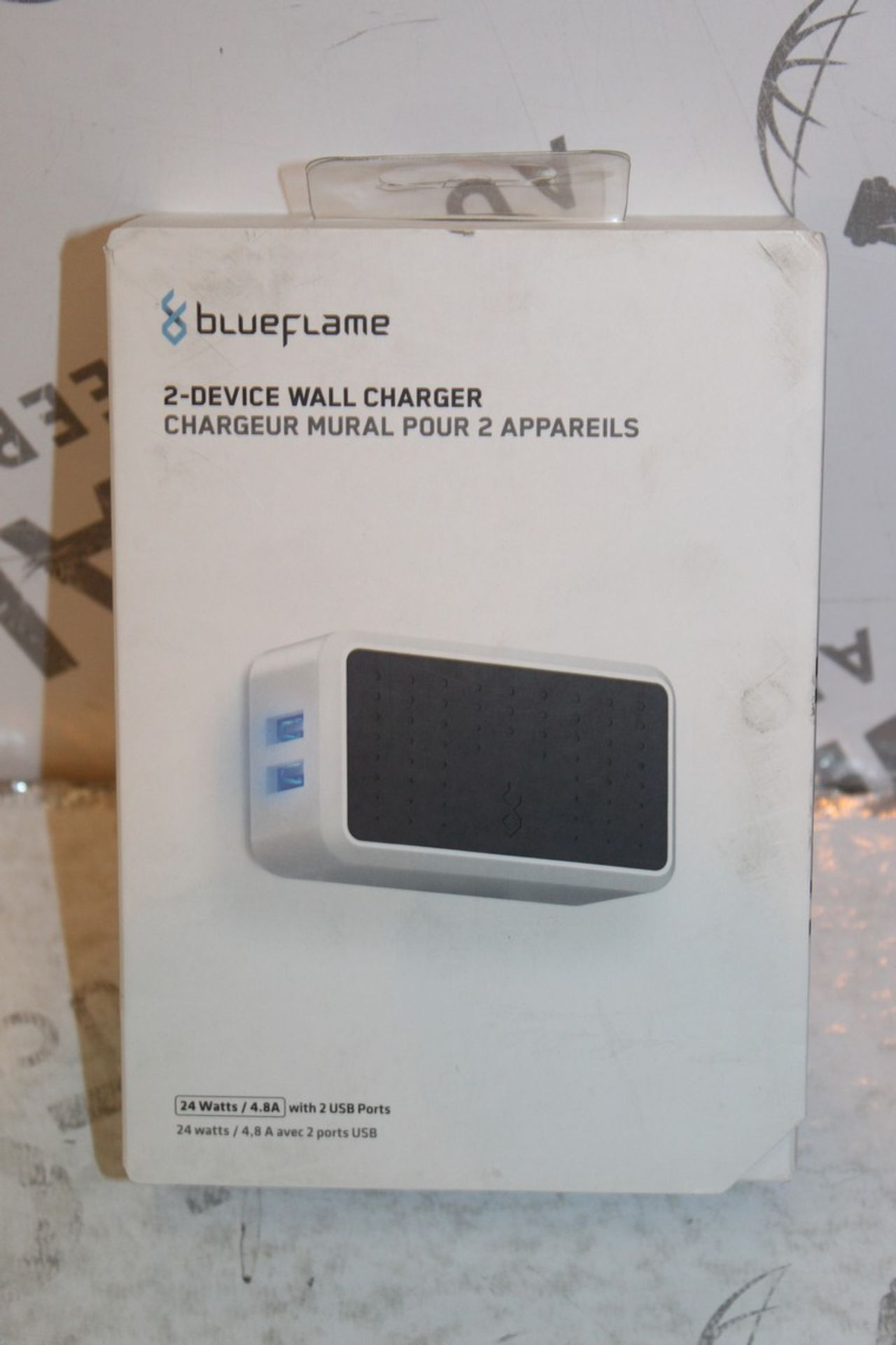 Lot 236 - Boxed Brand New Blue Flame The Duel 2 Device Wall Charger RRP £35