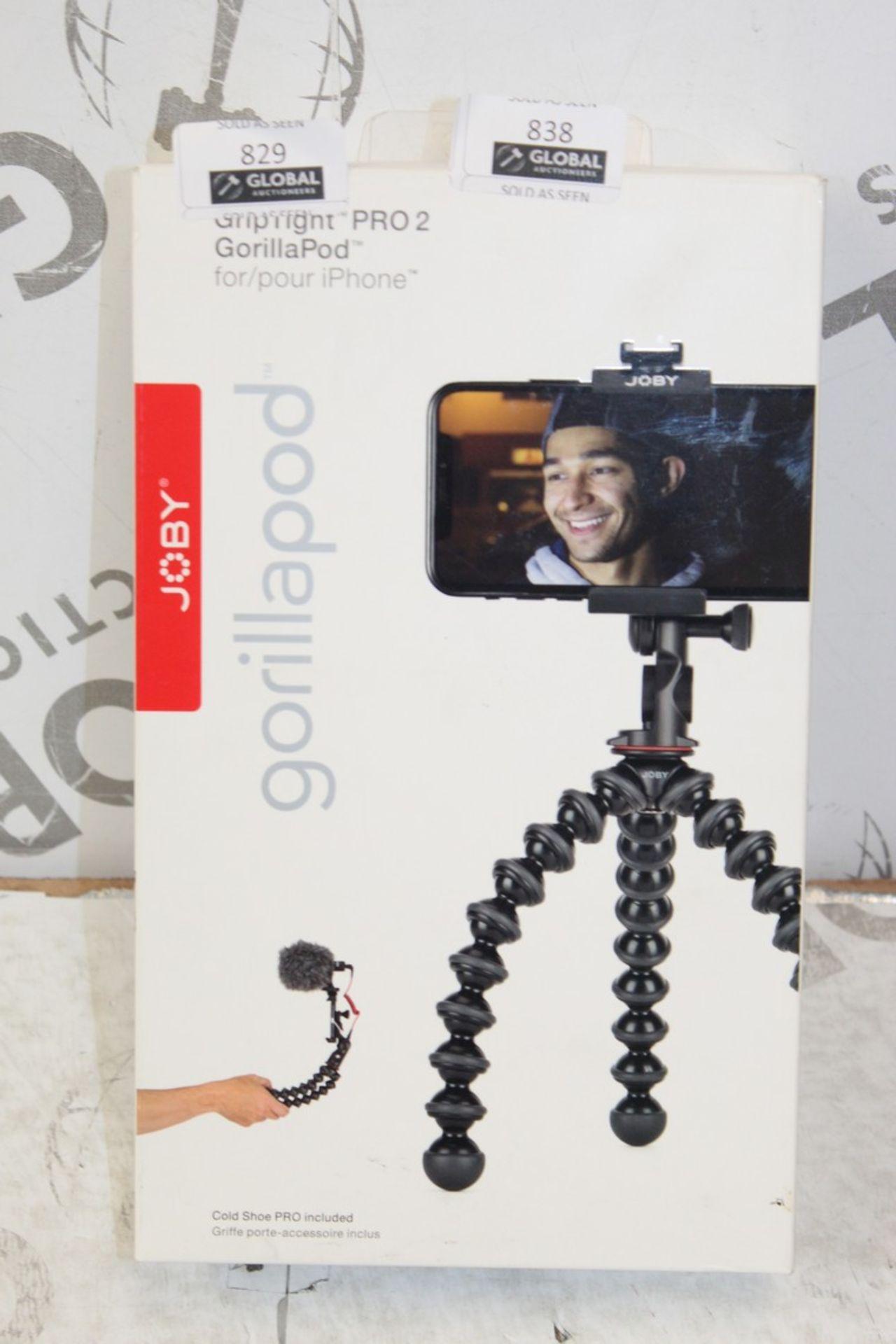 Lot 836 - Boxed Jobi Gorilla Grip Tripod Pro iPhone Holder RRP £70
