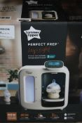 Boxed Tommee Tippee Perfect Preparation bottle Baby Warming Station RRP £120 (RET00566791) (