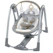 Boxed Ingenuity Boutique Collection Swing & Go Portable Swing RRP £85 (RET00666083) (Appraisals