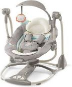 Boxed Ingenuity Convert Me Swing to Seat Portable Swing Seat RRP £80 (RET00763838) (Appraisals