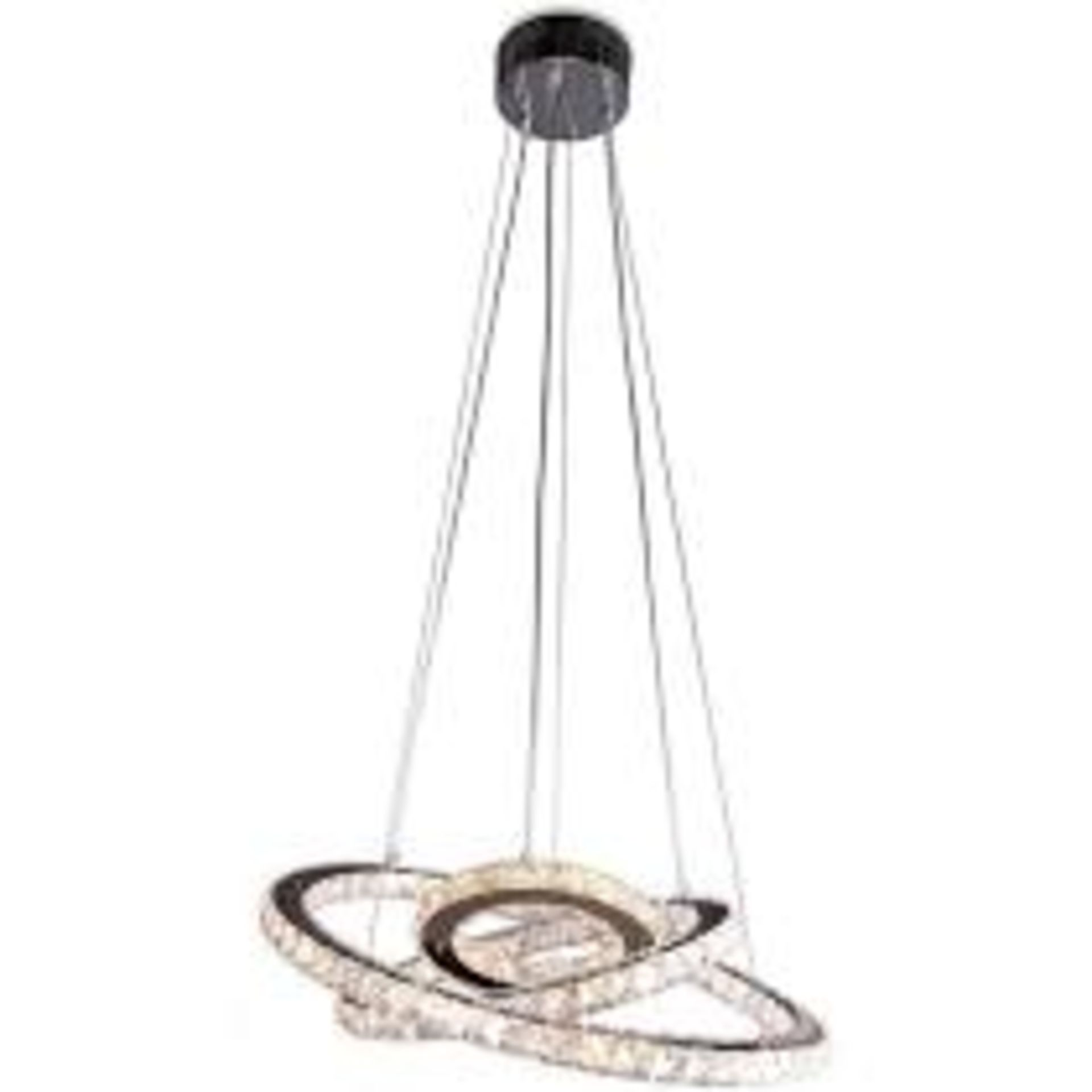 Lot 174 - Boxed Home Collection Stella Pendant Ceiling Light RRP £300 (Appraisals Available Upon Request)(
