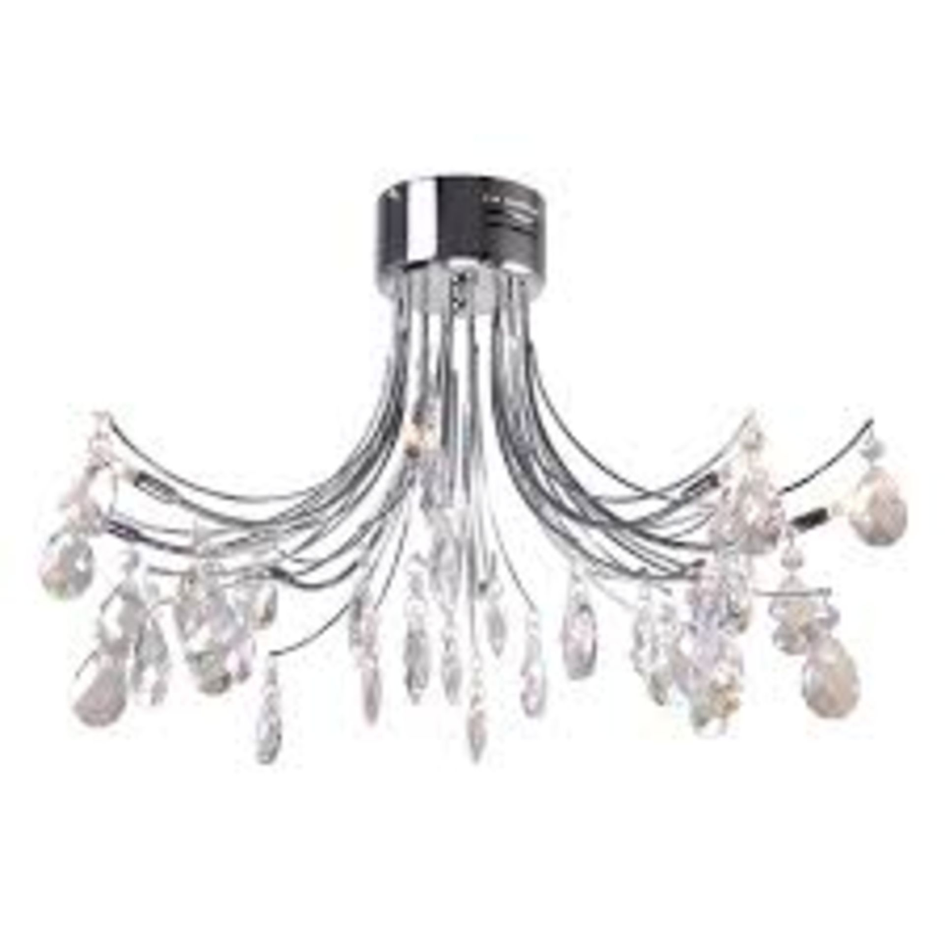 Lot 167 - Boxed Home Collection Zoe Plus Designer Ceiling Light RRP £90 (Appraisals Available Upon Request)(