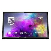 """Boxed Phillips 22PFT5303 5300 Series 22"""" TV RRP £2"""