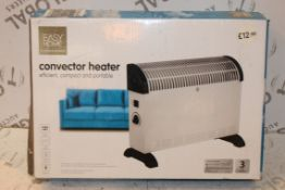 Lot to Contain 5 Easy Home Convector Heaters Combi