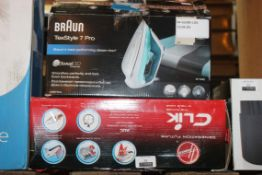 Lot to Contain 2 Assorted Items Braun Textile Stea