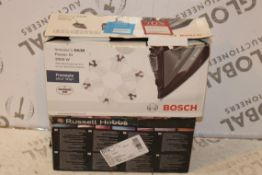 Lot to Contain 2 Assorted Bosch & Russell Hobbs St