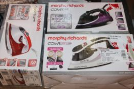 Lot to Contain 3 Assorted Morphy Richards Comfy Gr