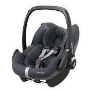 Boxed Maxi Cosi Pebble Pro Essence Black In Car Kids Safety Seat RRP £200 (NBW24368) (Pictures Are