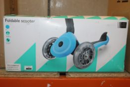 Boxed John Lewis & Partners Foldable Scooter RRP £70 (NBW631392) (Pictures Are For Illustration