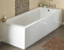 Boxed 1800mm Gloss White Front Bath Panel RRP £70 (19374) (Pictures Are For Illustration Purposes