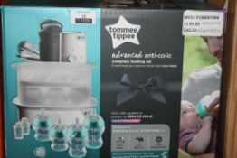 Boxed Tommee Tippee Advanced Anti Colic Steam System RRP £100 (NBW692254) (Pictures Are For