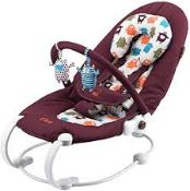 Boxed Lowbo 2 Baby Bouncer RRP £40 (NBW541300) (Pictures Are For Illustration Purposes Only) (