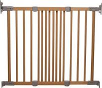 Boxed Assorted Baby Dan Flexi Fit Wood Natural Baby Gates RRP £45 (NBW595740) (541604) (