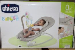 Boxed Chicco Balloon Ages 0 Months Plus Baby Bouncer RRP £70 (NBW626761) (Pictures Are For