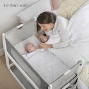 Boxed Snooze Pod Free Bedside Crib TOP ONLY RRP £200 (BUN598889) (Pictures Are For Illustration