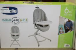Boxed Chicco Baby Hug 4 In 1 Tray RRP £50 (NBW649392) (Pictures Are For Illustration Purposes